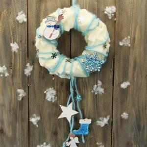 Basteln Weihnachten Kinder : basteln f r weihnachten mit kinder t rkranz basteln ~ Eleganceandgraceweddings.com Haus und Dekorationen