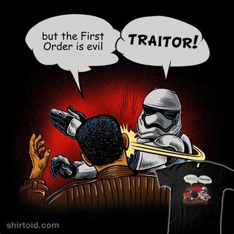 traitor shirtoid