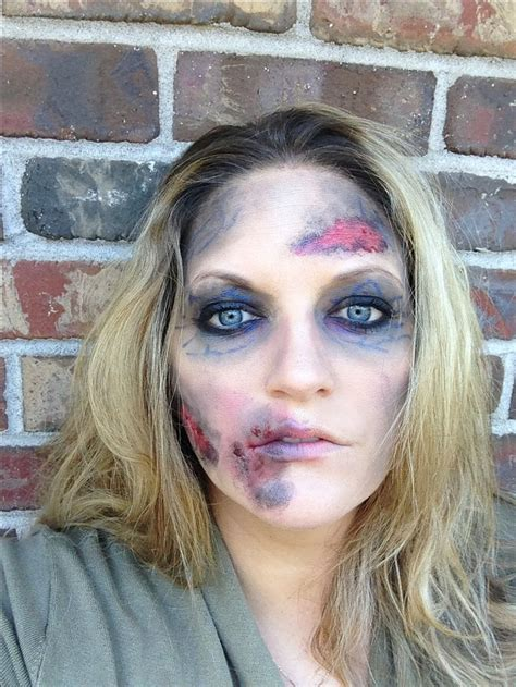 Halloween Zombie Makeup Easy Diy And Probably Already In