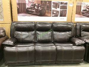 leather reclining sofa loveseat costcochaser With costco sectional sofa 799