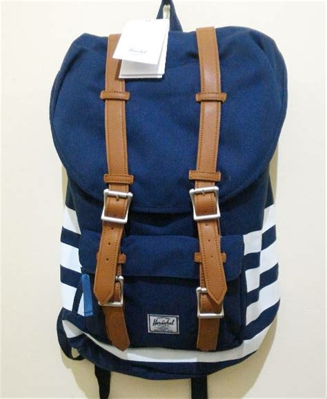 jual original herschel america backpack tas