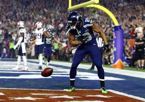 doug baldwin touchdown celebration sparks meme photo
