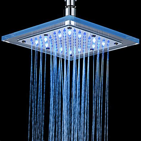 thermostatic led shower faucet head