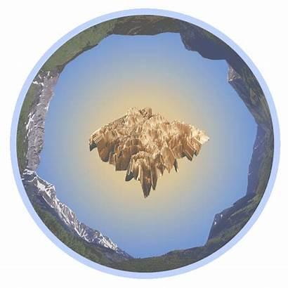 Mountain Rocky Biological Landscape Laboratory Contemporary 3d