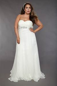 Wedding dresses for plus size women my pop dress for Plus size wedding dresses for the beach