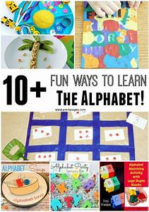 10 fun ways to learn the alphabet kindergarten With learn your letters game