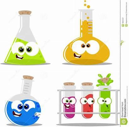 Science Chemical Beakers Clipartpanda Flasks Cartoon Clipart