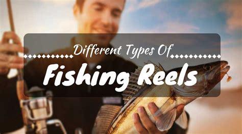 types  fishing reels