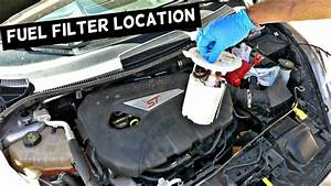 2013 Nissan Altima Fuel Filter Location