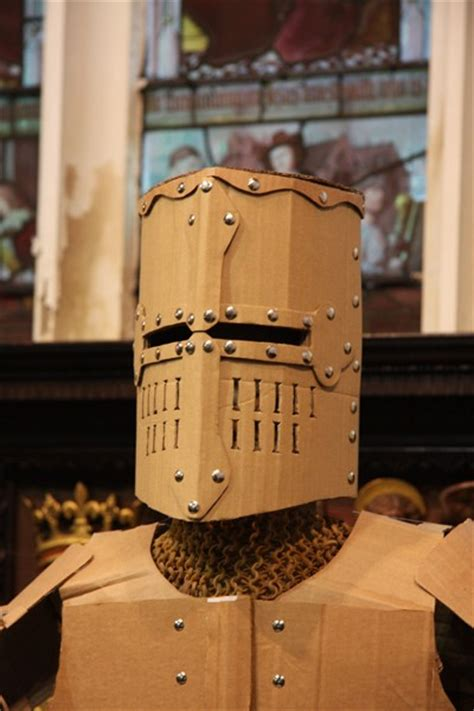 cardboard armor wearable armour costume o brien mob cardboard