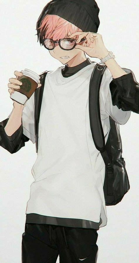 super glasses boy guys anime art  ideas