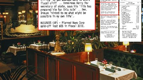 cuisine fran軋ise dc restaurant now printing ap headlines with receipts eater