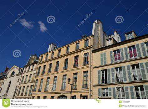 France, The Picturesque City Of Pontoise Editorial