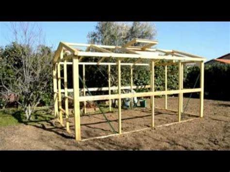 Abris De Jardin Metal Pas Chere by R 233 Alisez Une Serre En Bois Ultra R 233 Sistante Et D 233 Montable