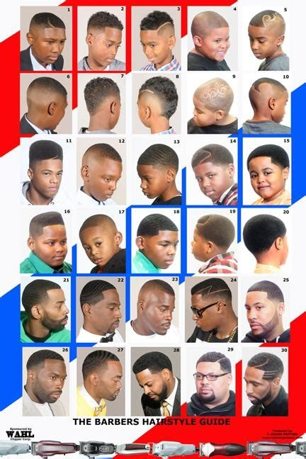 barber haircut chart barber poster american black 2014bbm