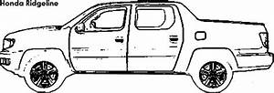 chevrolet avalanche coloring pages coloring pages With honda ridgeline car