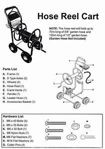 Garden Hose Reel Parts