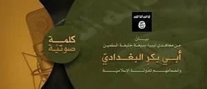 Fighters in Libya Pledge Allegiance to the IS, Abu Bakr al ...