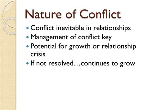 nature  conflict powerpoint  id