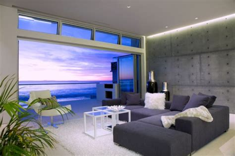 ravishing ocean front living room design ideas