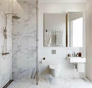 beaucoup d39idees en photos pour la salle de bain en marbre With salle de bain design avec vasque en marbre blanc
