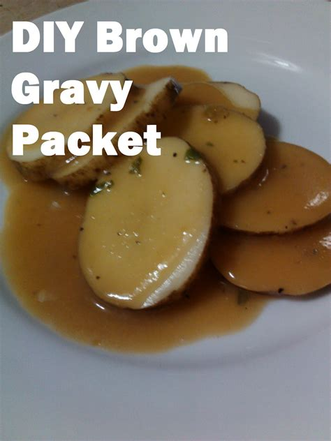 brown gravy my american confessions wednesday diy brown gravy packet