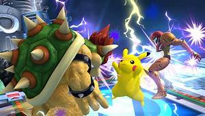 Super Smash Bros For Nintendo 3DS Wii U Characters