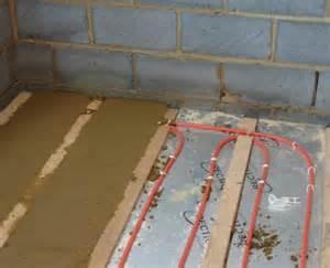 underfloor heating commissioning
