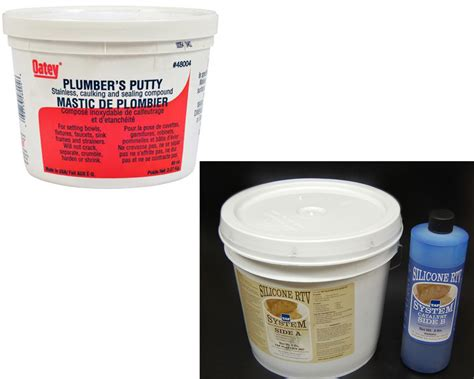 plumbers putty kitchen sink plumbers putty vs silicone homeverity 4290