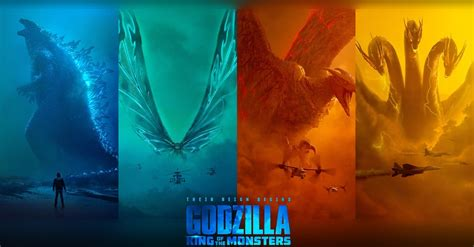King Of The Monsters Posters Celebrate