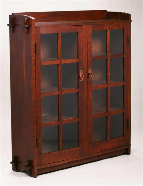 stickley bookcase for sale gustav stickley two door bookcase california historical