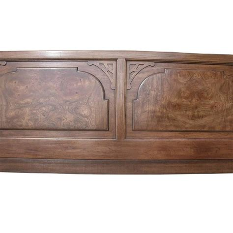 Century Furniture Chin Hua Bedroom 1960 Vintage Century Chin Hua Burl Headboard For Sale At