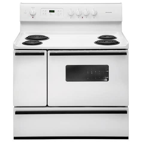 frigidaire ffef4015lw 5 4 cu ft 40 quot oven electric