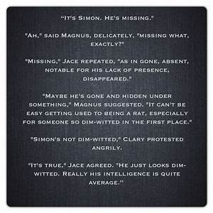 27 best images about Magnus bane quotes on Pinterest ...