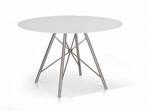 Tischplatte Rund 90 Cm : domino esstisch rund 120 cm wei ~ Bigdaddyawards.com Haus und Dekorationen