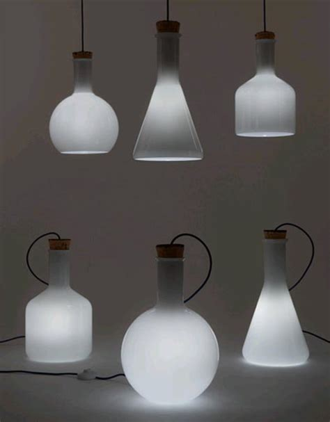 Science Lamp by Labware Lighting 3 Lamp Set Inspired By Modern Science
