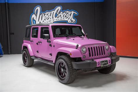 jeep pink matte photo 1 of 2015 hsv supercharged wrangler jeep jk in
