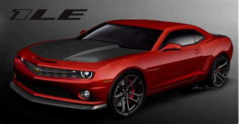 chevy camaro  updated interior   le package