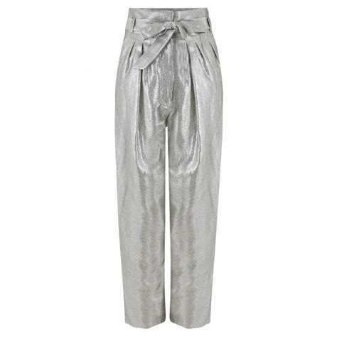IRO Takecare Pant in Silver | Stanwells