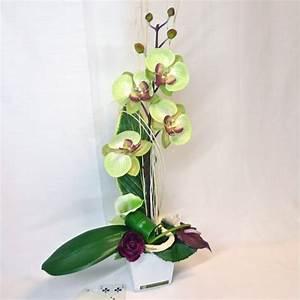 comment agencer sa salle de bain 13 composition florale With déco chambre bébé pas cher avec composition fleurs artificielles