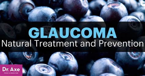 glaucoma natural treatment  prevention draxecom