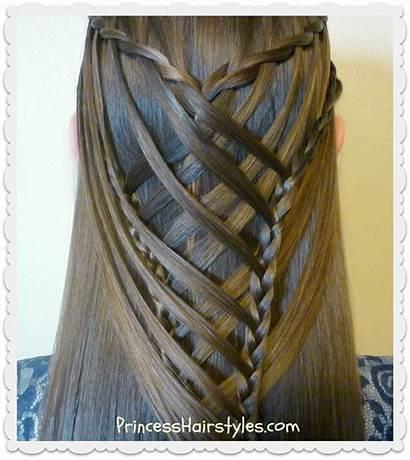 Mermaid Braid Cross Criss Waterfall Hairstyle Hairstyles