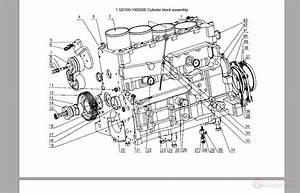 Yuchai Diesel Engine Yc4112zq  Zlq Parts Catalog