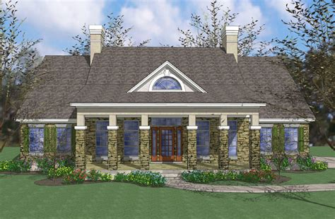 house plans with covered porches covered porches on southern home plan 16829wg
