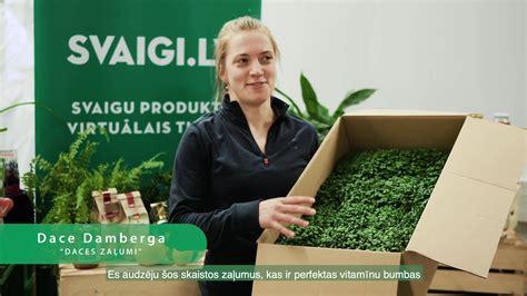 Svaigi.lv - Mūsu saimniece un zaļumu audzētāja Dace...