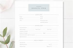 Client Booking Form For Photographer