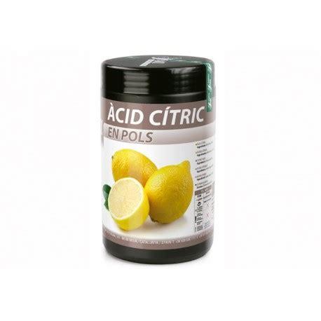 balances de cuisine acide citrique sosa 1kg panier des chefs