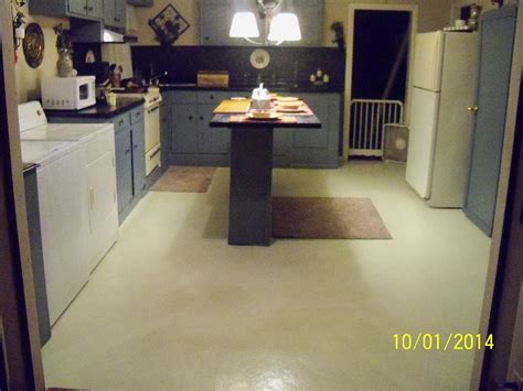 paint for floor tiles in kitchen hometalk stenciling linoleum floors 9043
