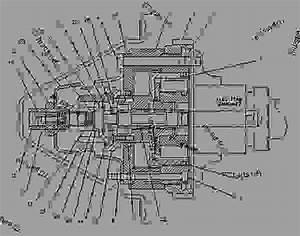 4p1925 Drive Group-governor  U0026 Fuel Pump - Engine