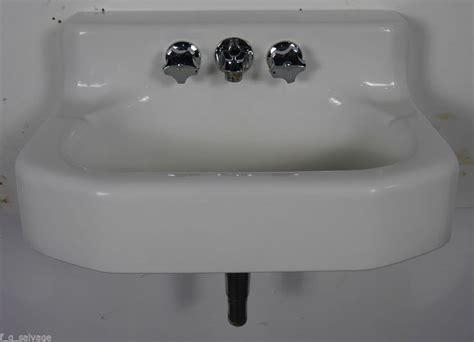 details about antique vintage kohler bathroom sink wall